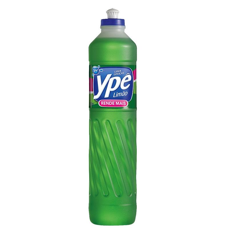 Detergente Liq. Ypê Limão - Caixa com 24 uni. de 500ml
