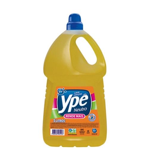 Detergente Liq Ypê Neutro - Galão 5 litros