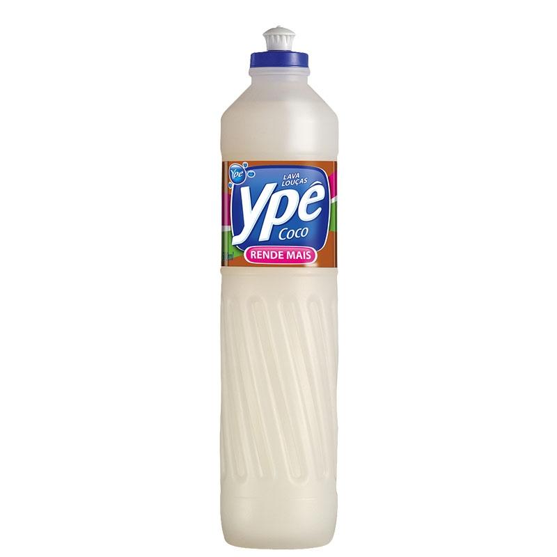 Detergente Liq. Ypê Coco - Caixa com 24 uni. de 500ml