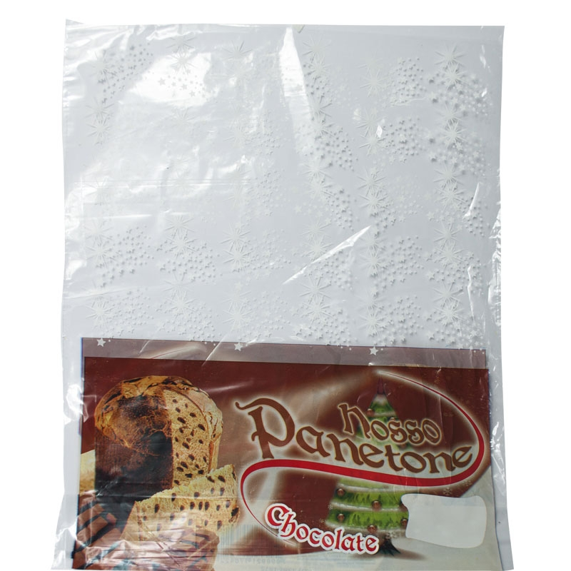 Saco Panetone Chocolate 500grs 100 uni.