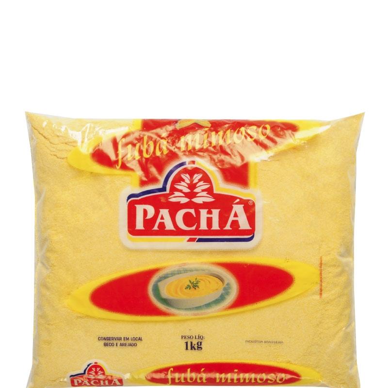 Fubá Mimoso Pachá - Fardo 20 uni. de 1Kg