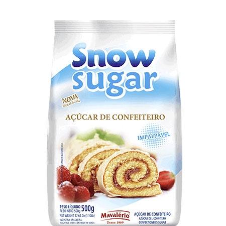 Açúcar de Confeiteiro Impalpável Mavalério 500 grs