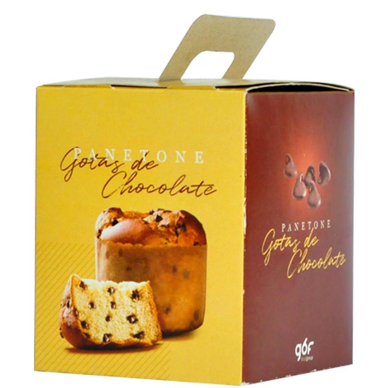 Caixa para Panetone Chocolate de 100gr - 100 und.