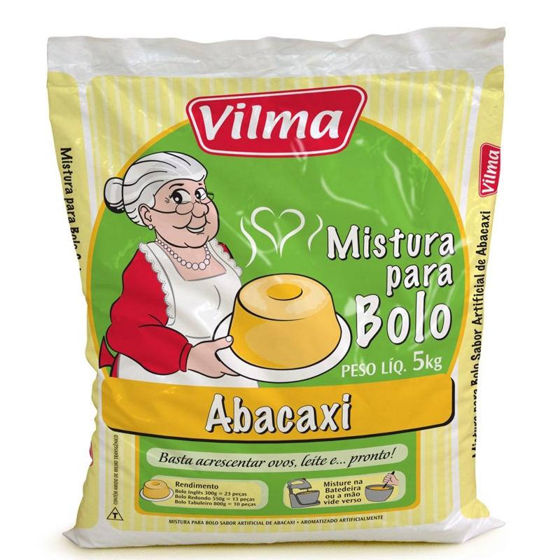 Mistura para Bolo Vilma Sabor Abacaxi 5Kg
