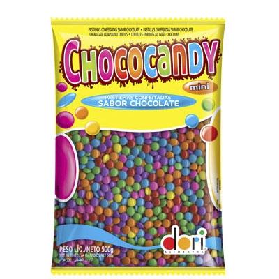 Dori Mini Chococandy Colorido 500 grs