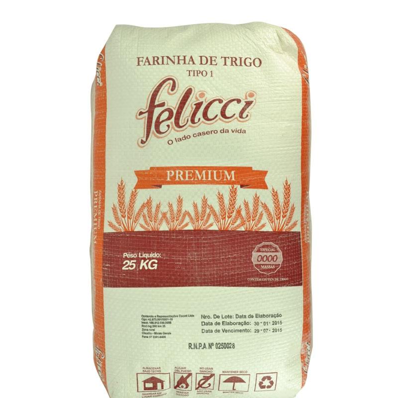 Farinha de Trigo Especial Felicce 25 Kg