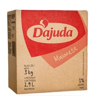 Maionese D'ajuda Box Bag 3 Kg