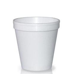 Pote Isopor Copobrás 240 ml -  50 uni.