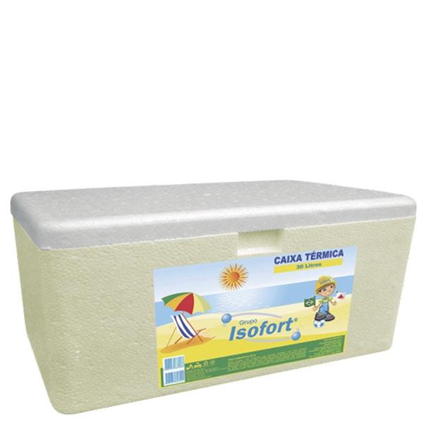 Caixa Térmica Isopor Isofort 30 L
