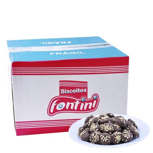 Biscoitos Amanteigados Fontini Flokito Branco 2,5 Kg