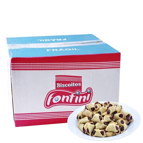 Biscoitos Amanteigados Gravata Fontini 2,5 Kg