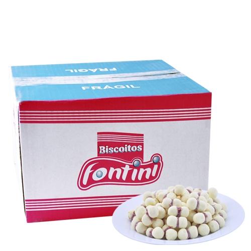 Biscoitos Amanteigados Beijinho Fontini 2,5 Kg