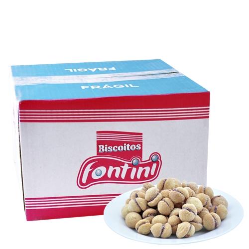 Biscoitos Amanteigados Casadinho Fontini 2,5 Kg