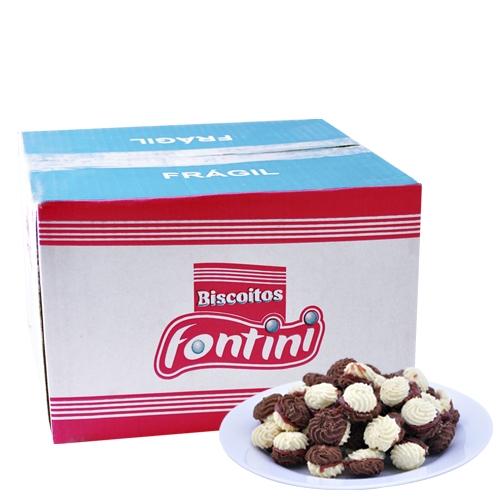 Biscoitos Amanteigados Choconata Fontini 2,5 Kg
