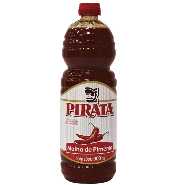 Molho de Pimenta Pirata 12 uni. de 900 ml