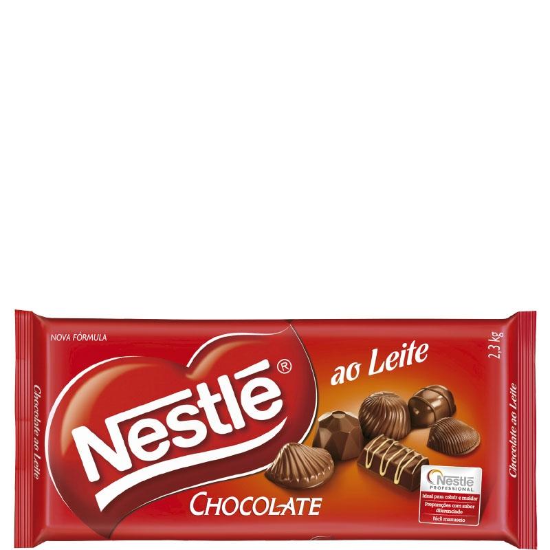 Barra Nestlé Chocolate ao Leite 2,1kg