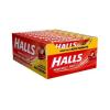 Drops Halls Morango - caixa com 21 uni.