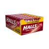 Drops Halls Cereja - caixa com 21 uni.