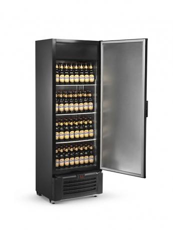 Visa Cooler Cerveja 505 Litros Porta Sólida Promo - VCC505S PROMO - 1