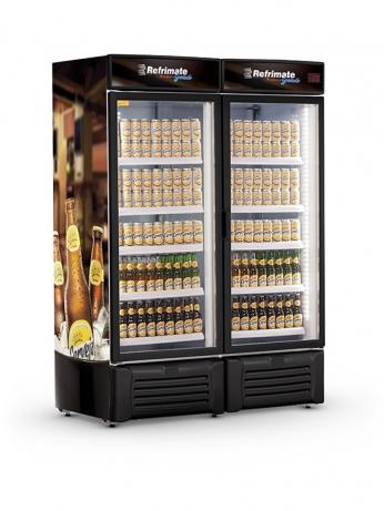Visa Cooler Cerveja 1300 Porta de Vidro - VCC1300V - 1