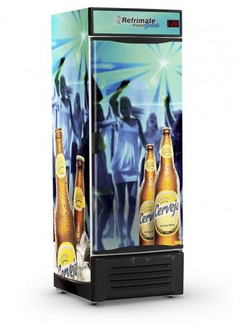 Visa Cooler Cerveja 600 Porta Sólida - VCC600S - 1