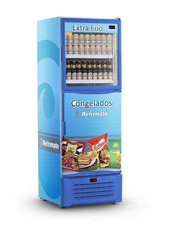 Visa Cooler Double Congelados e Extra Frio 600 - VCDCGEXF600 - 1
