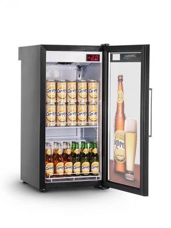Visa Cooler Slim Home Beer 130L Porta de Vidro - VCSHB130V - 1