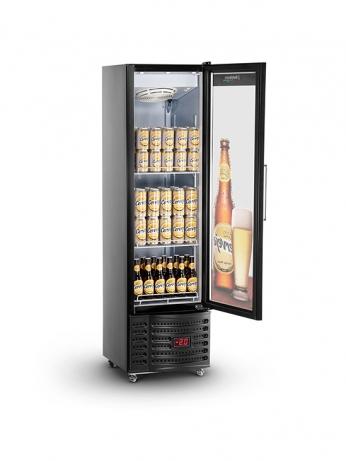 Visa Cooler Slim Home Beer 230L Porta de Vidro - VCSHB230V - 1