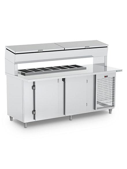 Balcão de Serviço Condimentador Refrigerado- BSRCTEP2000