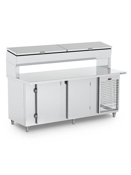 Balcão de Serviço Condimentador Refrigerado- BSRCTE2000