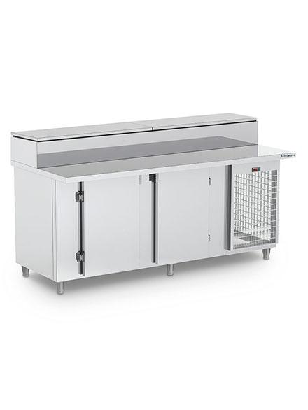 Balcão de Serviço Condimentador Refrigerado Sobreposto- BSRCSP2000