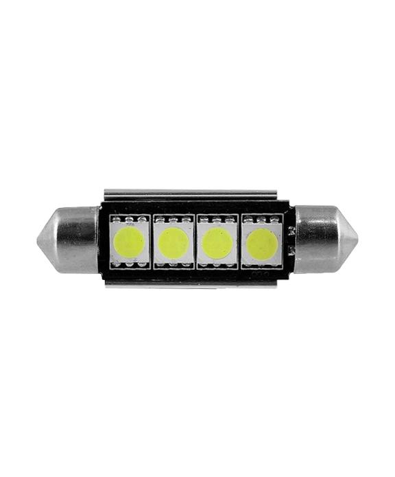 TORPEDO 4 LED 5050 CANBUS 41MM | ASX Produtos