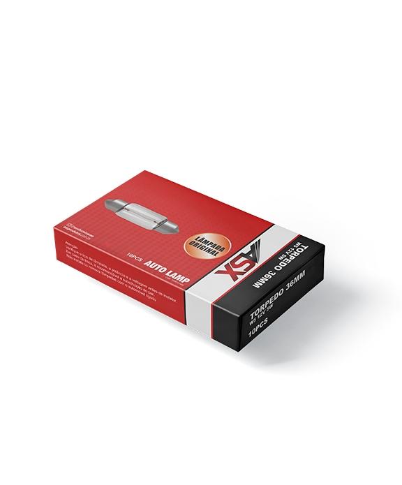 TORPEDO CLEAR 41MM 12V | ASX Produtos