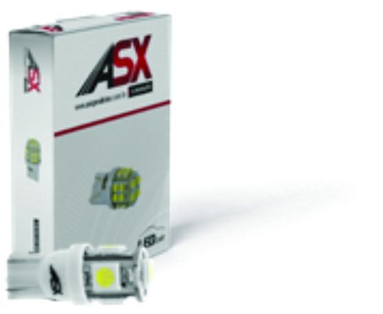 T10 05 LED 5050 10und | ASX Produtos