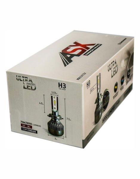H27CSP-LED HEADLIGHT-H27-BIVOLT  | ASX Produtos