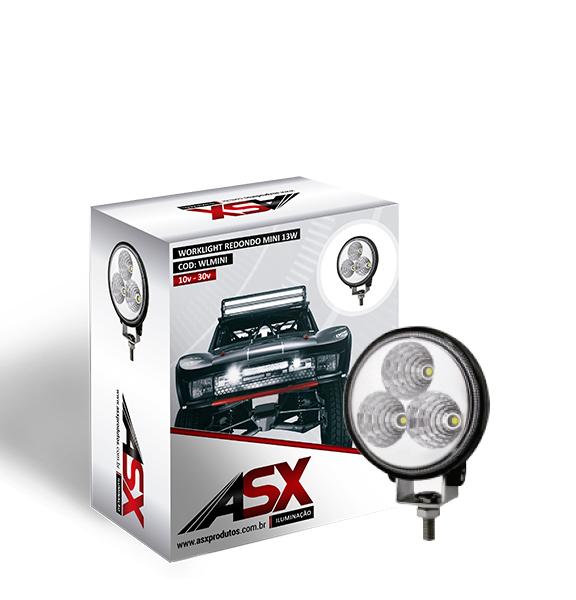 LED WORKLIGHT REDONDO MINI Bivolt | ASX Produtos