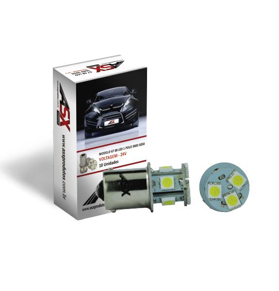 67 08 LED SMD 5050   ASX Produtos