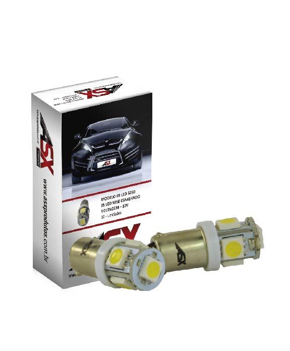 69 5 LEDS SMD 12V | ASX Produtos