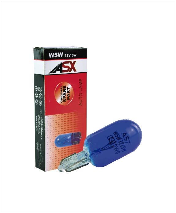 Esmagada T10 W5W  BLUE   ASX Produtos