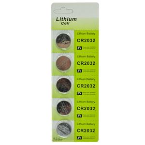 Bateria de Lithium 3V CR2032 | ASX Produtos