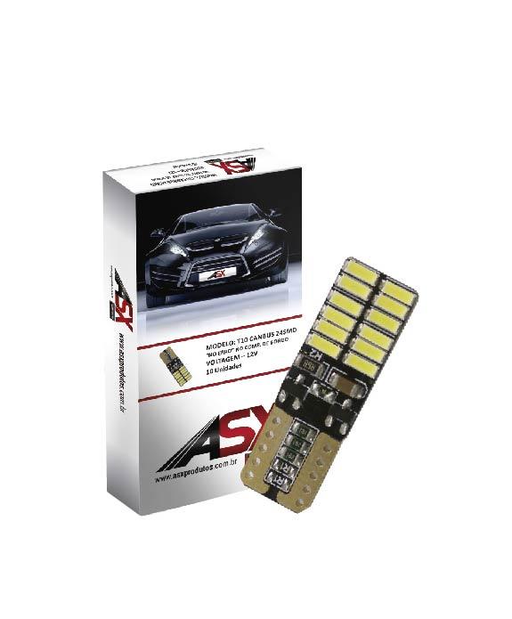 T10 CANBUS 24 SMD 12V | ASX Produtos