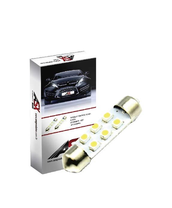 TORPEDO  41MM  6 LEDS  12V | ASX Produtos