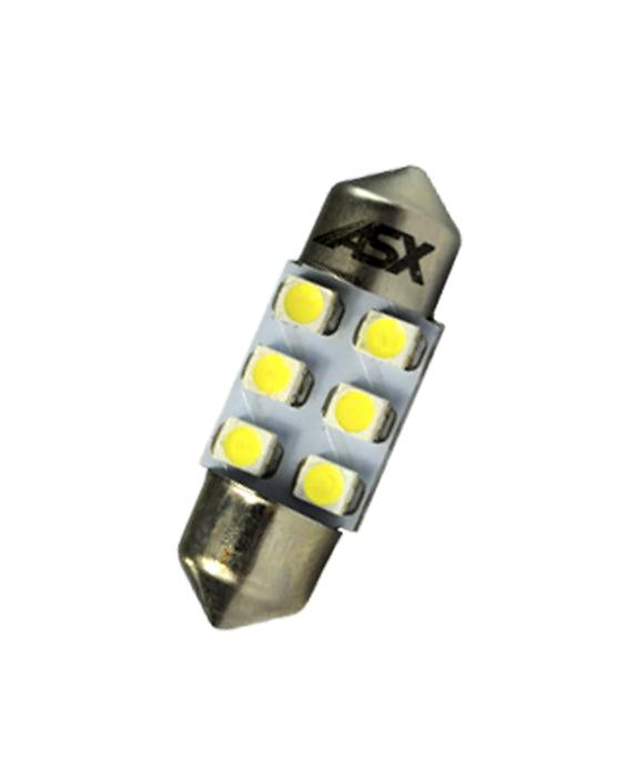 TORPEDO  31MM 6 LEDS  12V | ASX Produtos