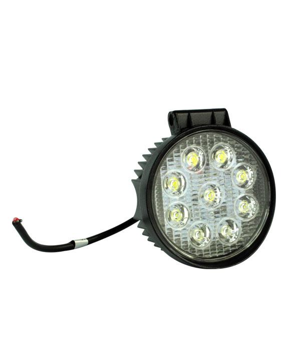LED WORK LIGHT 27W BIVOLT REDONDO | ASX Produtos