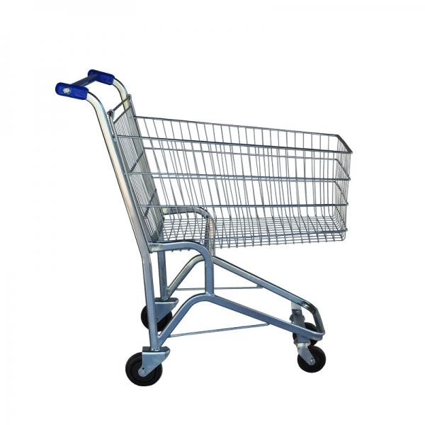 Carrinho de Supermercado Simples 90 e 130 Litros | Zinco & Arte