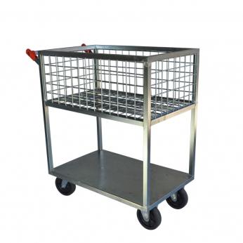 Carrinho Abastecedor Alto 300 kg | Zinco & Arte