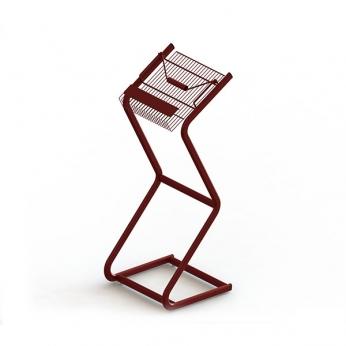 Porta Folheto | Zinco & Arte