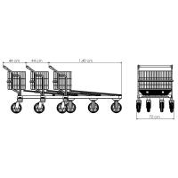 Carro Prancha Aramado 400 kg | Zinco & Arte